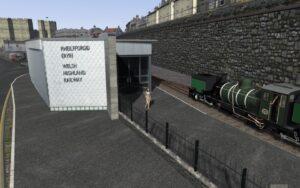 WHR - Caernarfon Station