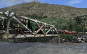 WHR - Crossing the Glaslyn River